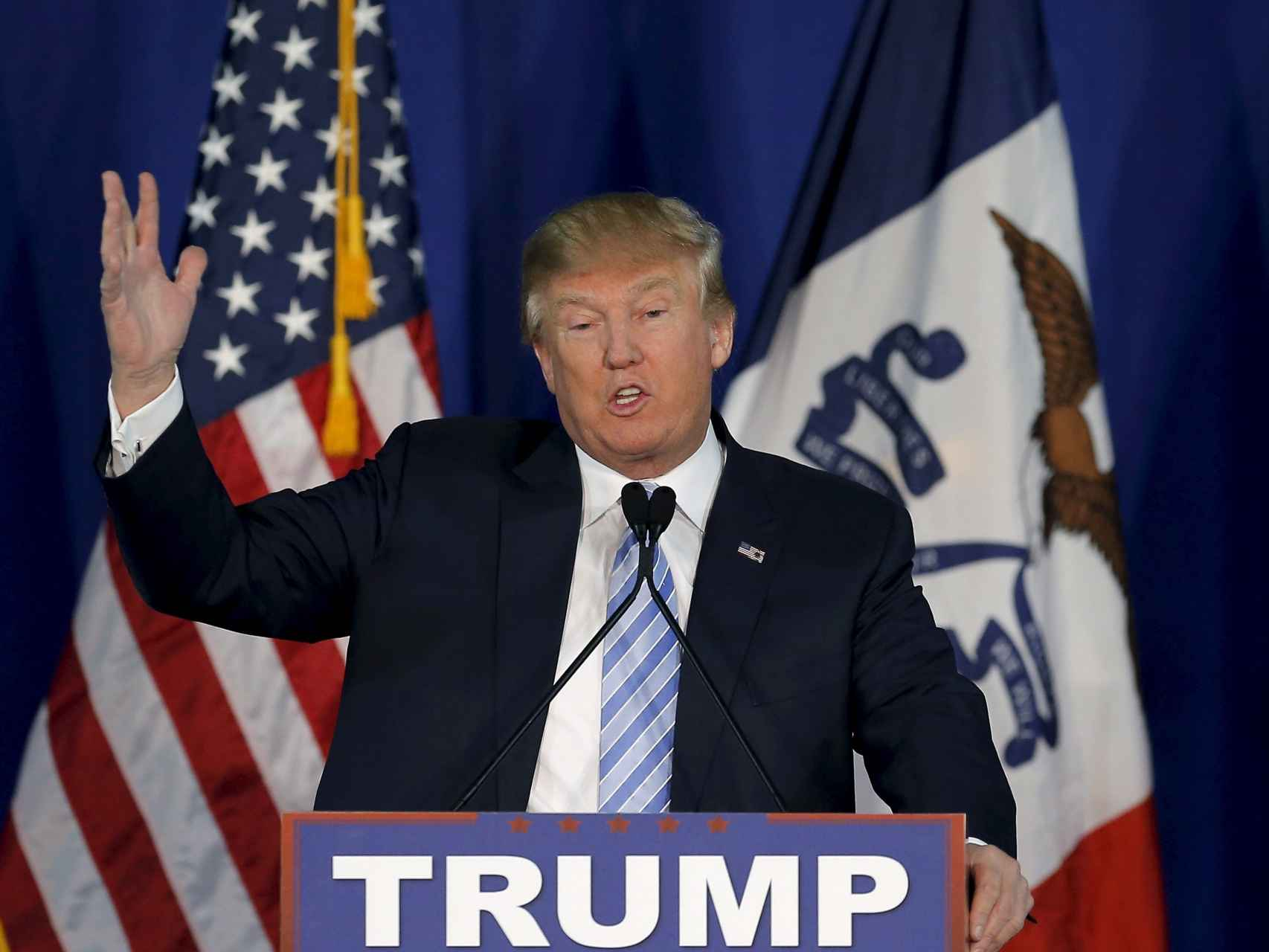 El candidato republicano Donald Trump/Jim Young/Reuters
