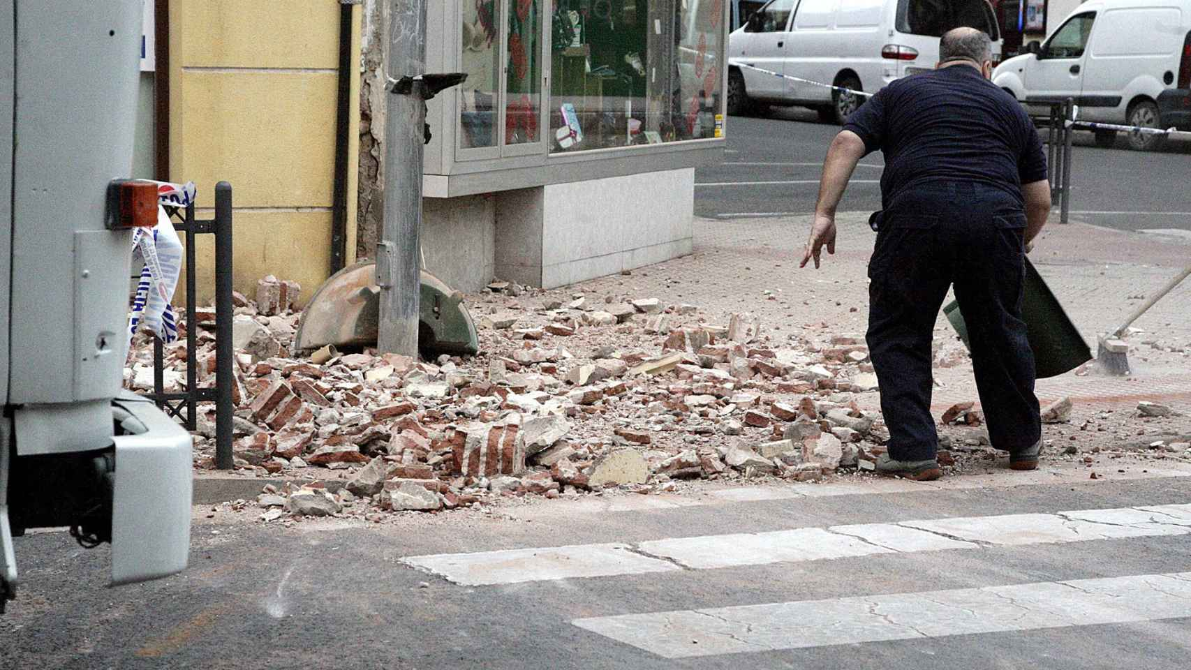 El terremoto del Mar de Alborán causó incidencias materiales en Melilla.