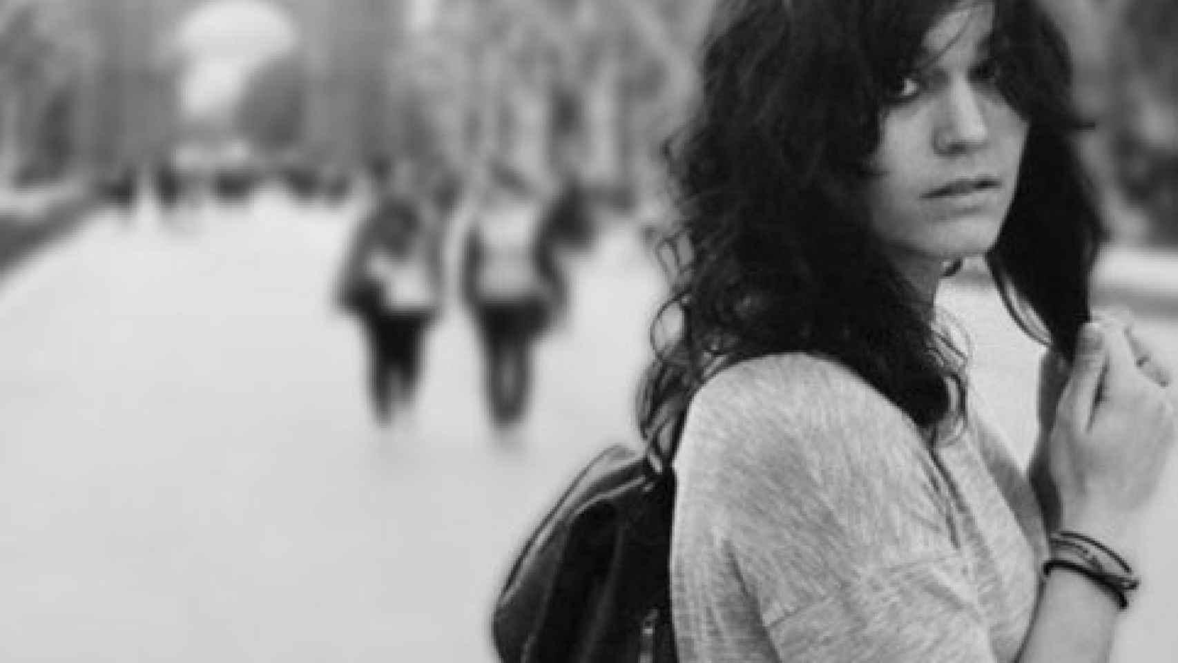 La poeta Elvira Sastre