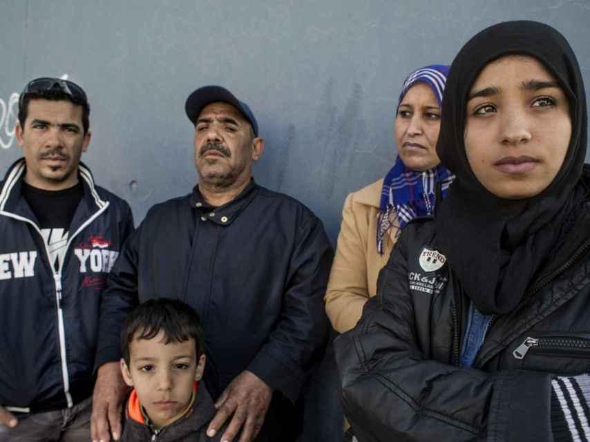 Mohamed y su familia pagaron 4.000 euros por entrar en Melilla.