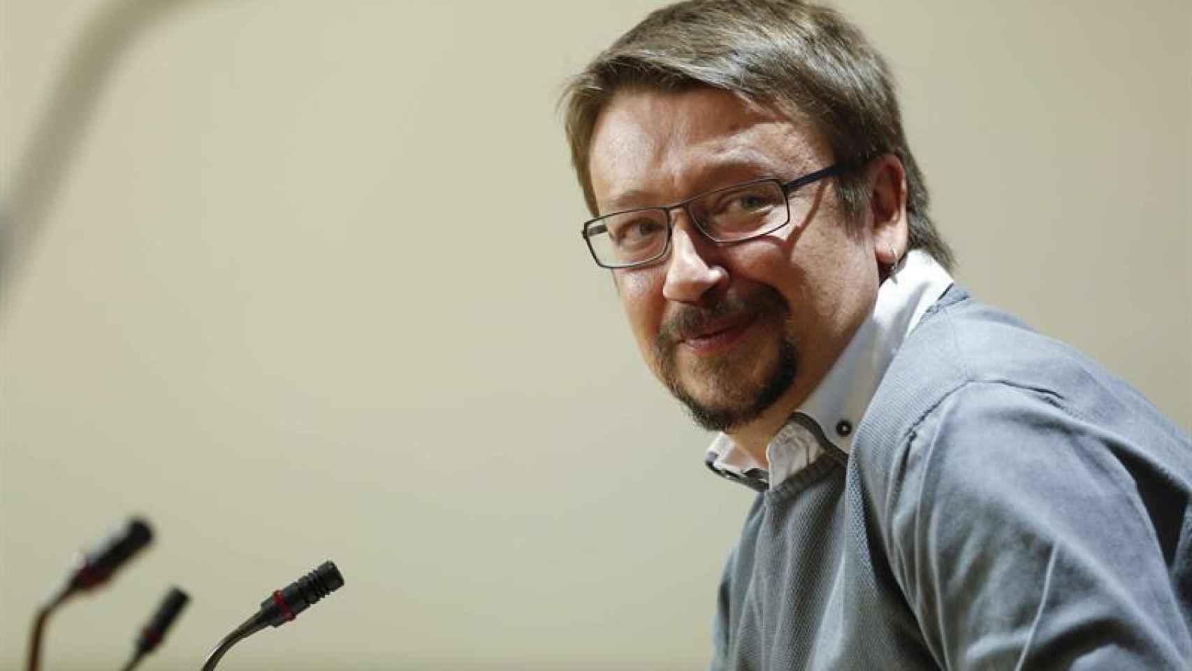 Xavier Domenech, diputado de En Comú Podem.