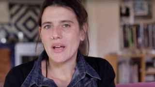 Anaïs Huerta, la demandante.