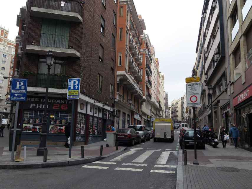 Leganitos 24 es es punto con mayor número de multas de las APRs de Madrid