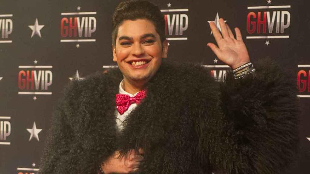 Sema en la gala inaugural de 'GH VIP' (Goyo Conde)