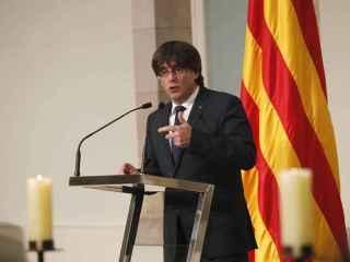 El president de la Generalitat, Carles Puigdemont.