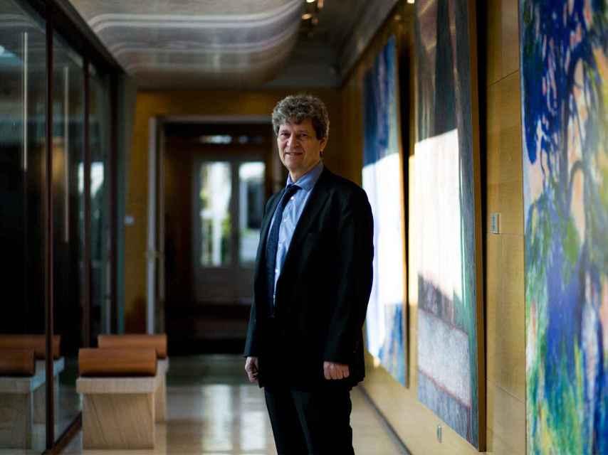 Robin Lovell-Badge, en la sede de la Fundación BBVA.