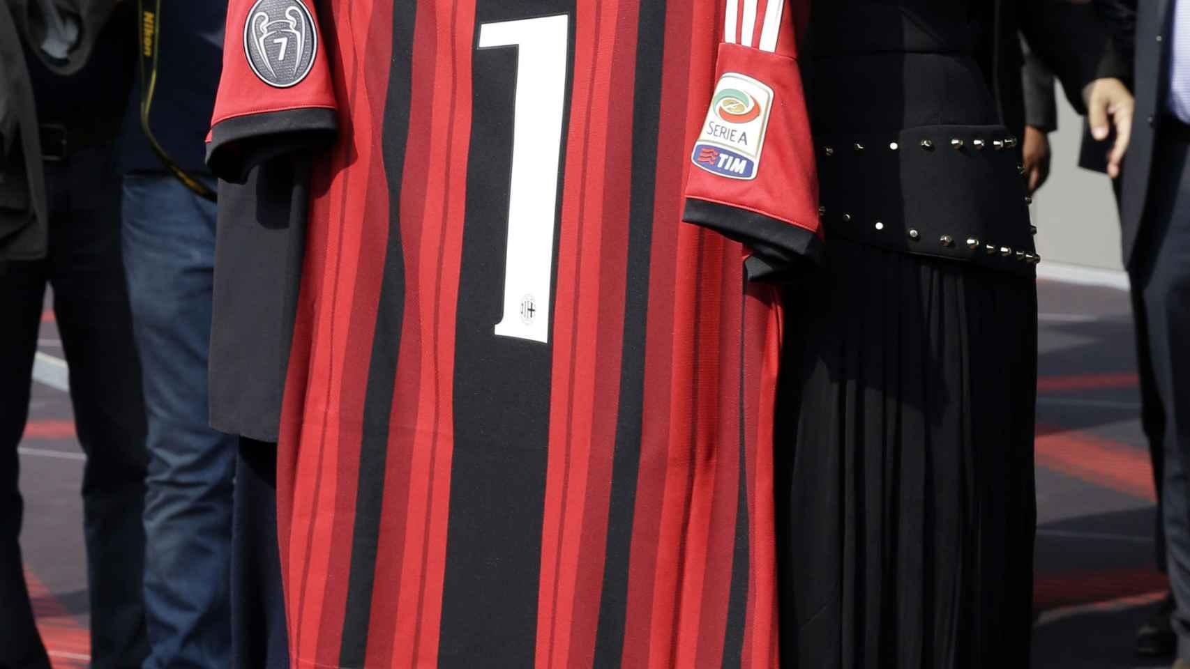 Bárbara y su padre Silvio Berlusconi