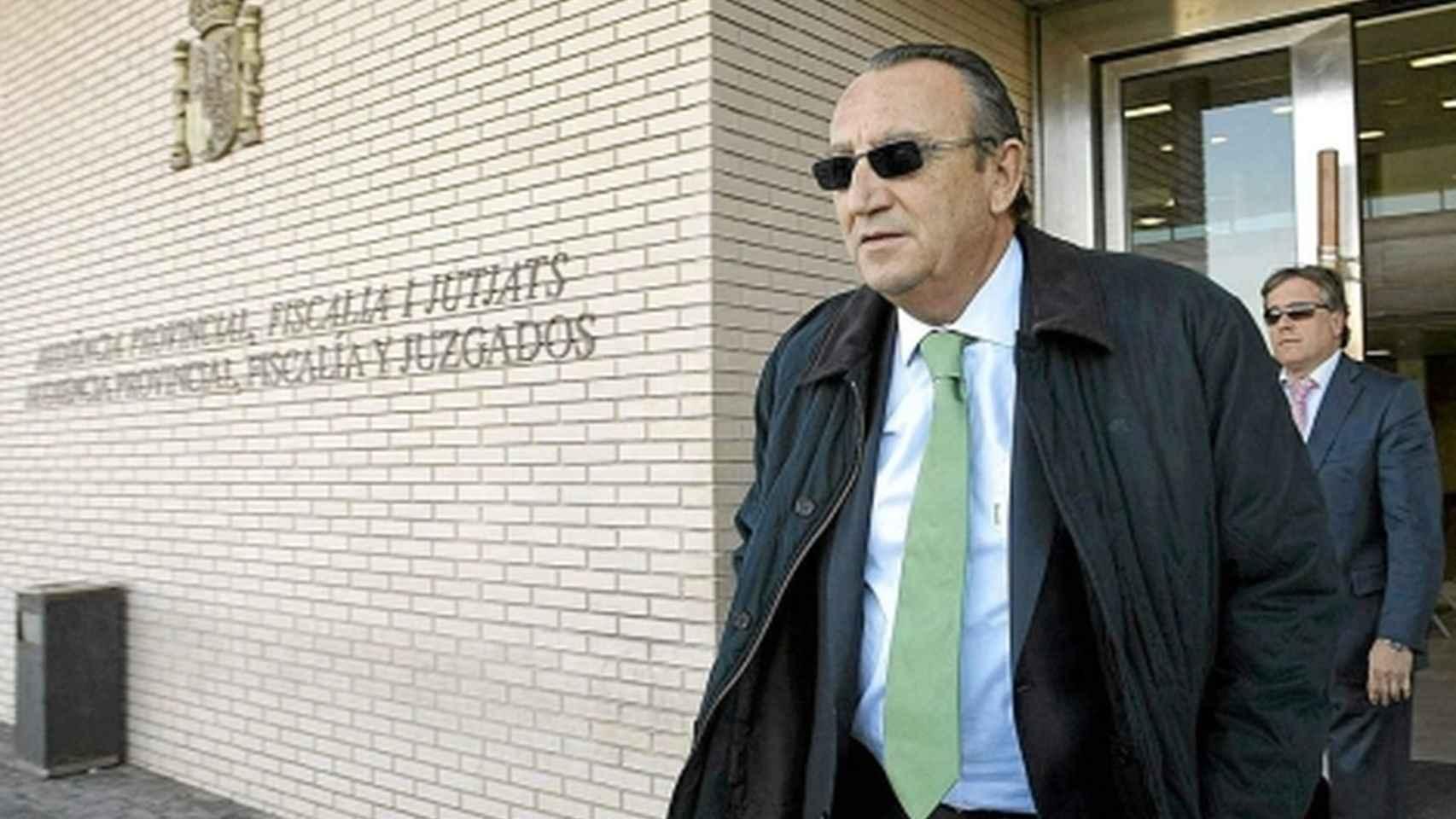 Carlos Fabra, expresidente de la Diputación de Castellón.