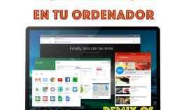Videotutorial: Cómo instalar Android en tu ordenador con Remix OS