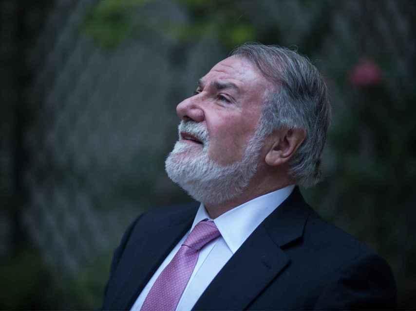 El ex eurodiputado del PP Jaime Mayor Oreja. / Reportaje gráfico: Moeh Atitar