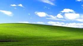El famoso fondo de pantalla por defecto de Windows XP