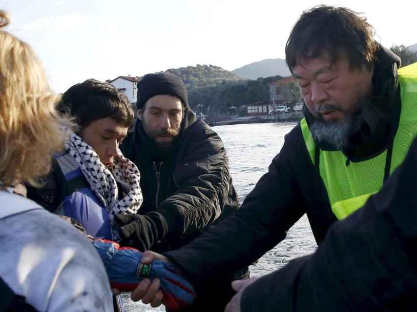 Ai weiwei,artista y  activista en pos de los refugiados