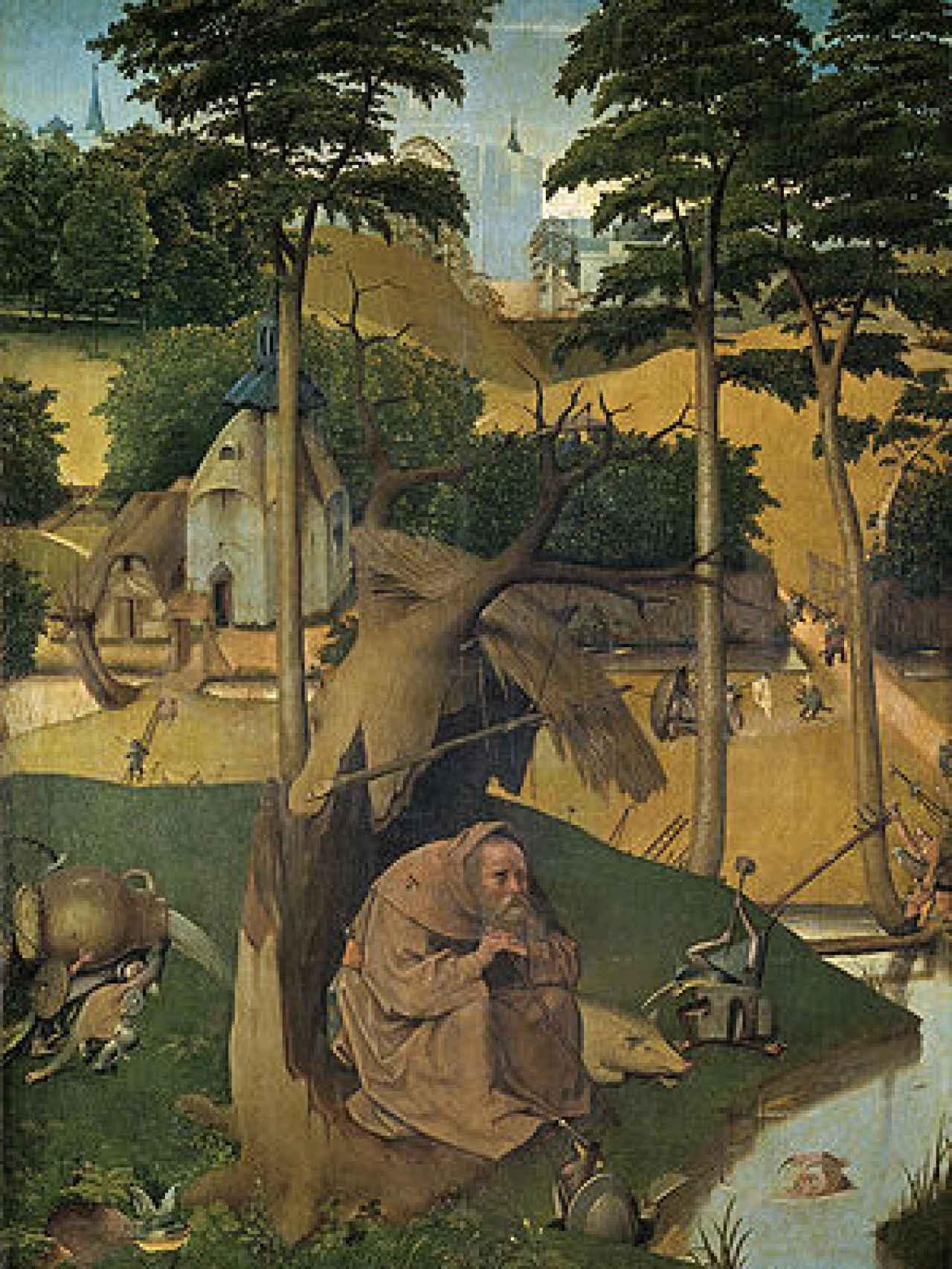 Las tentaciones de san Antonio, del Museo del Prado.