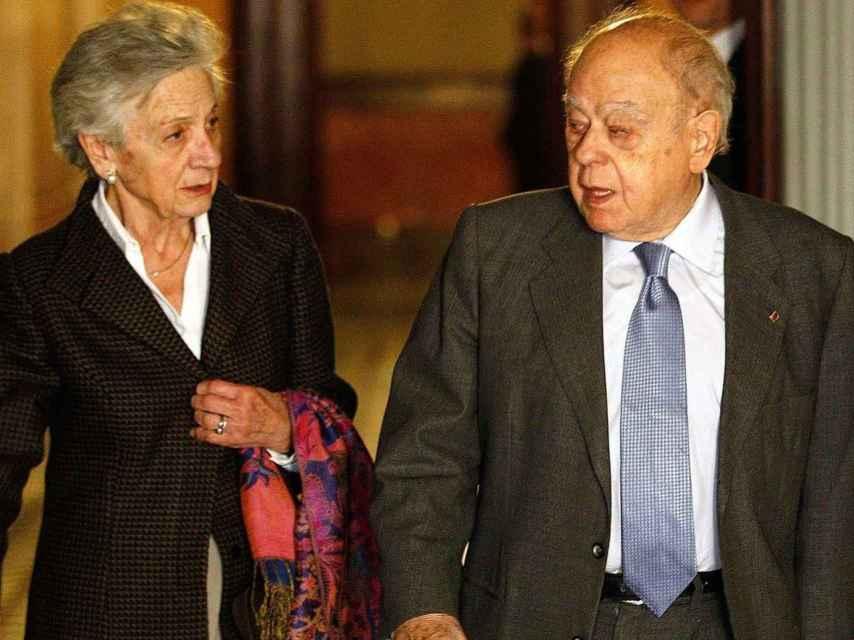 El matrimonio Pujol Ferrusola.