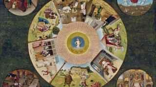 La table de los pecados capitales, en el Museo del Prado.