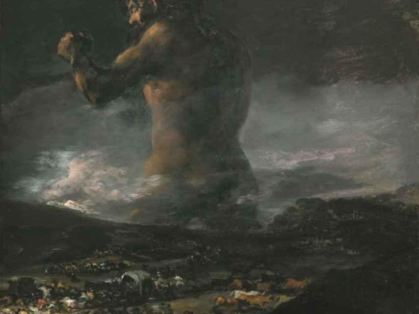El Coloso, antes de Goya. Ahora nadie sabe.