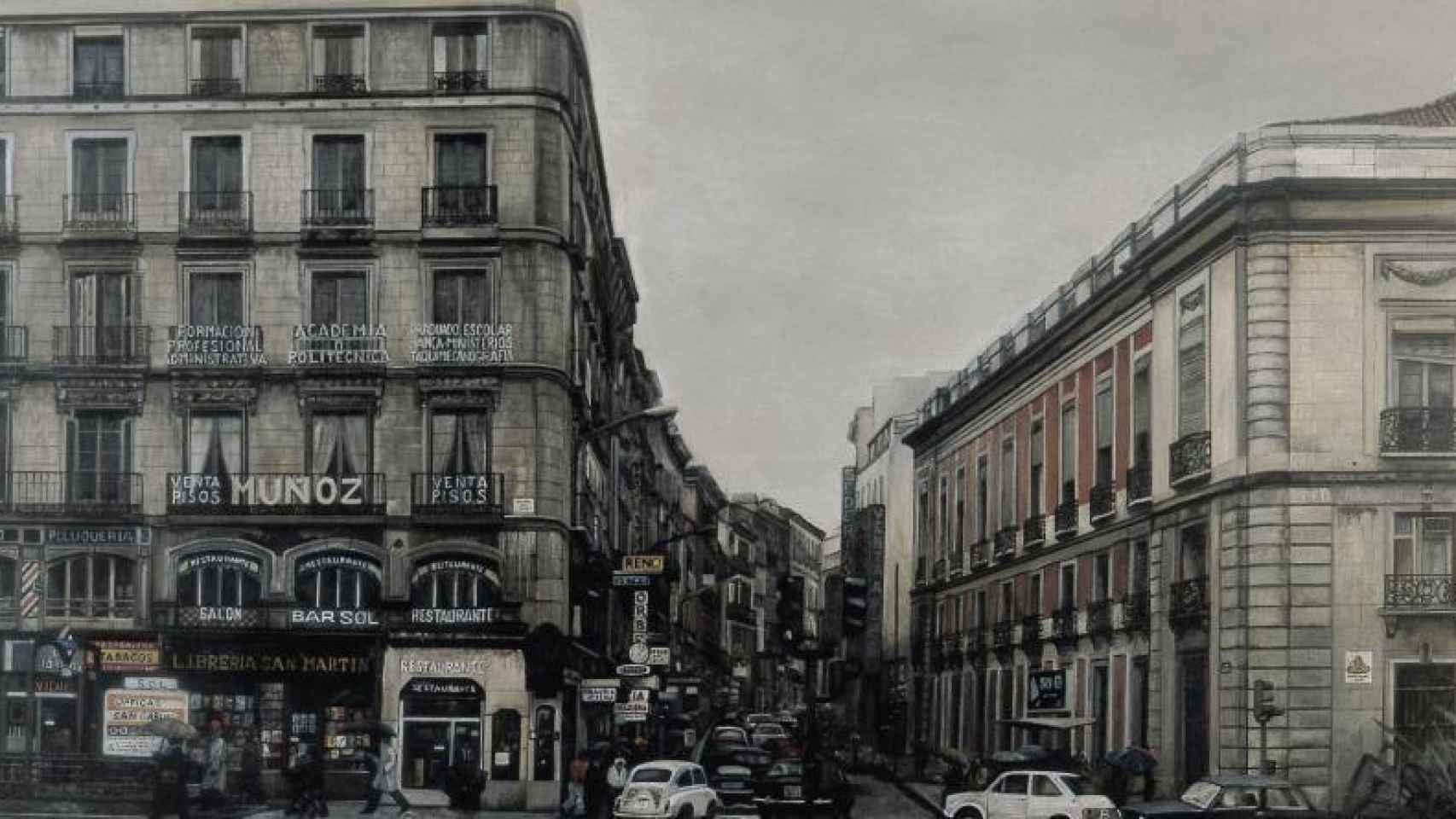 Puerta del Sol (1979), de Amalia Avia, incluido en la muestra.