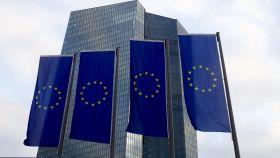 Banderas de la Unión Europea en una imagen de archivo.