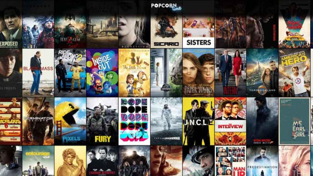 popcorn time navegador 1