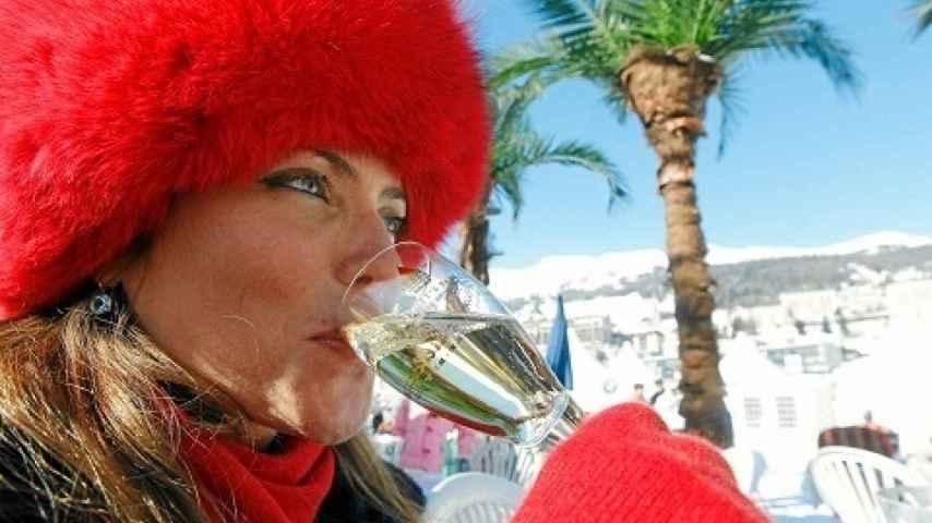 El White Turf en la estación suiza de Saint Moritz reúne a famosos y millonarios