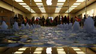 Uno de los templos de Apple: su tienda