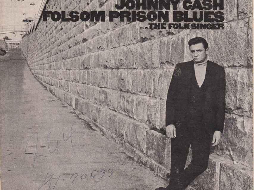 Portada del disco de Cash.