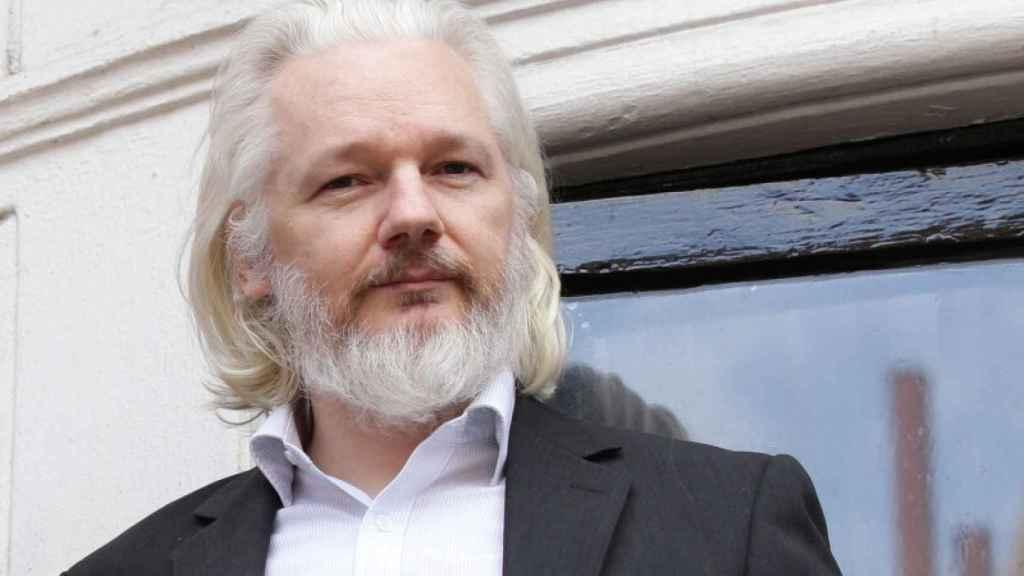 Julian Assange en una foto de archivo.