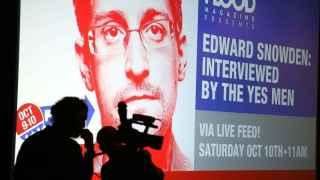 Entrevista con Edward Snowden el pasado octubre, en Los Ángeles.