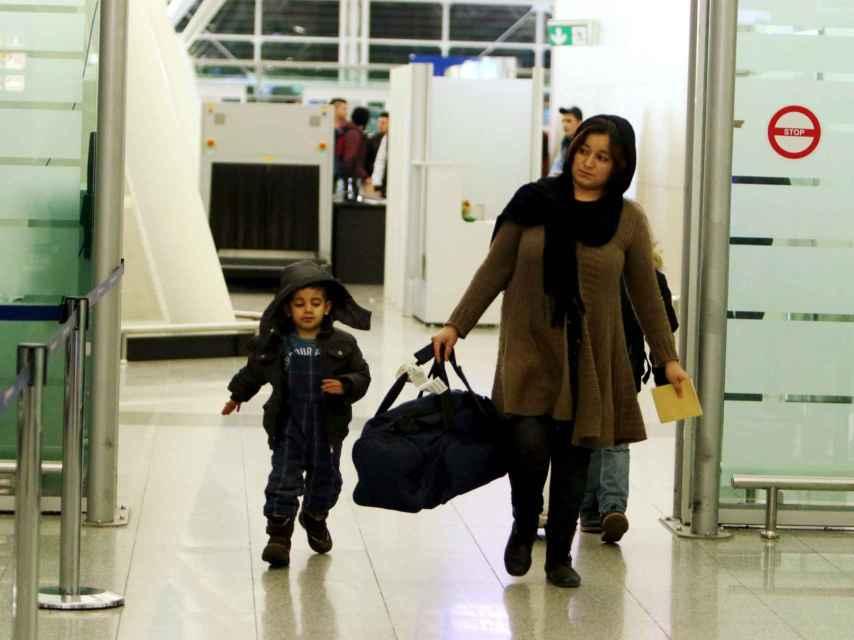 Solicitantes de asilo regresan a Irak, hartos de la espera en Alemania.