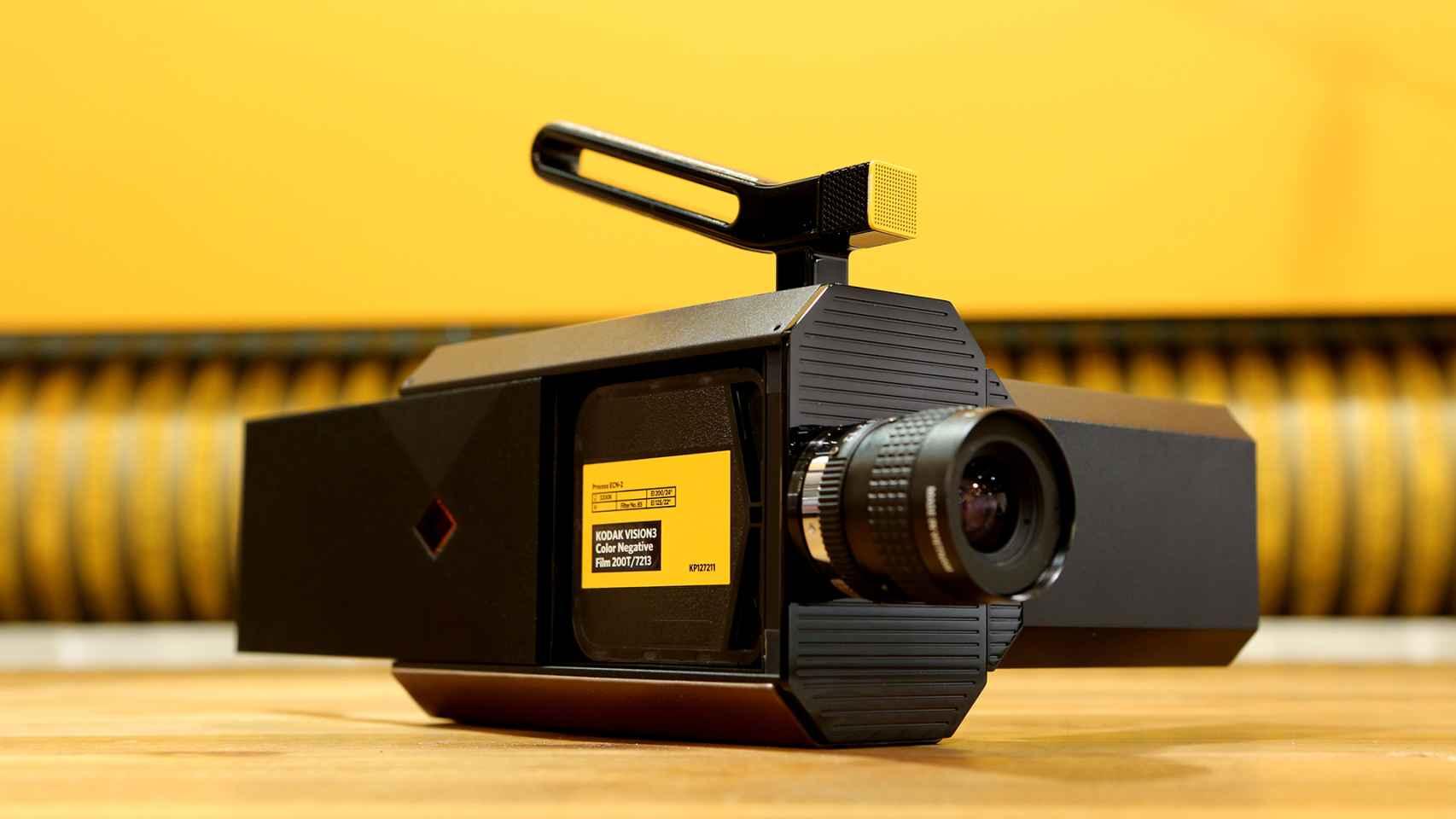 Imagen promocional de la nueva Kodak Super 8