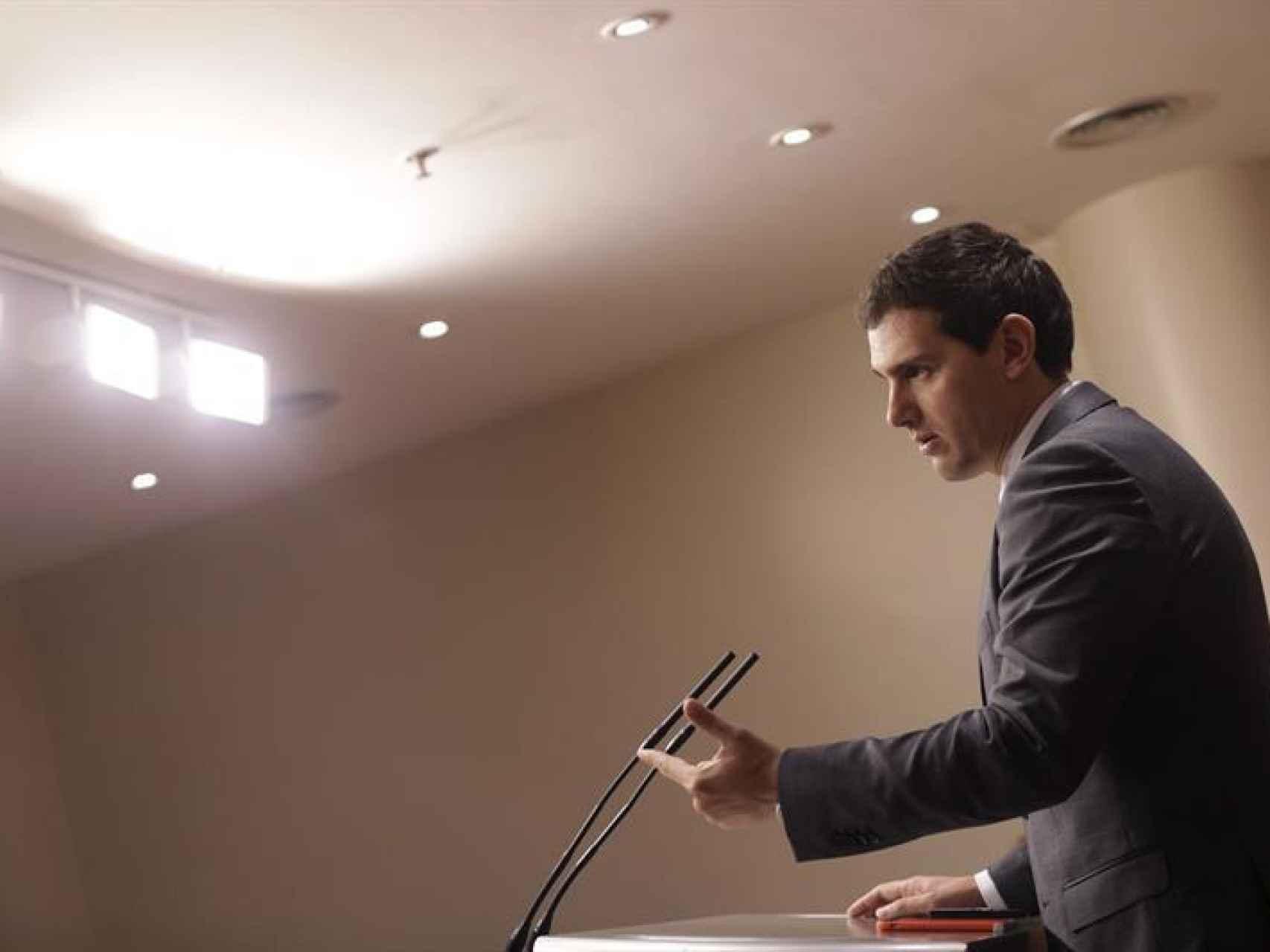 El presidente de Ciudadanos, Albert Rivera/Javier Lizón/EFE