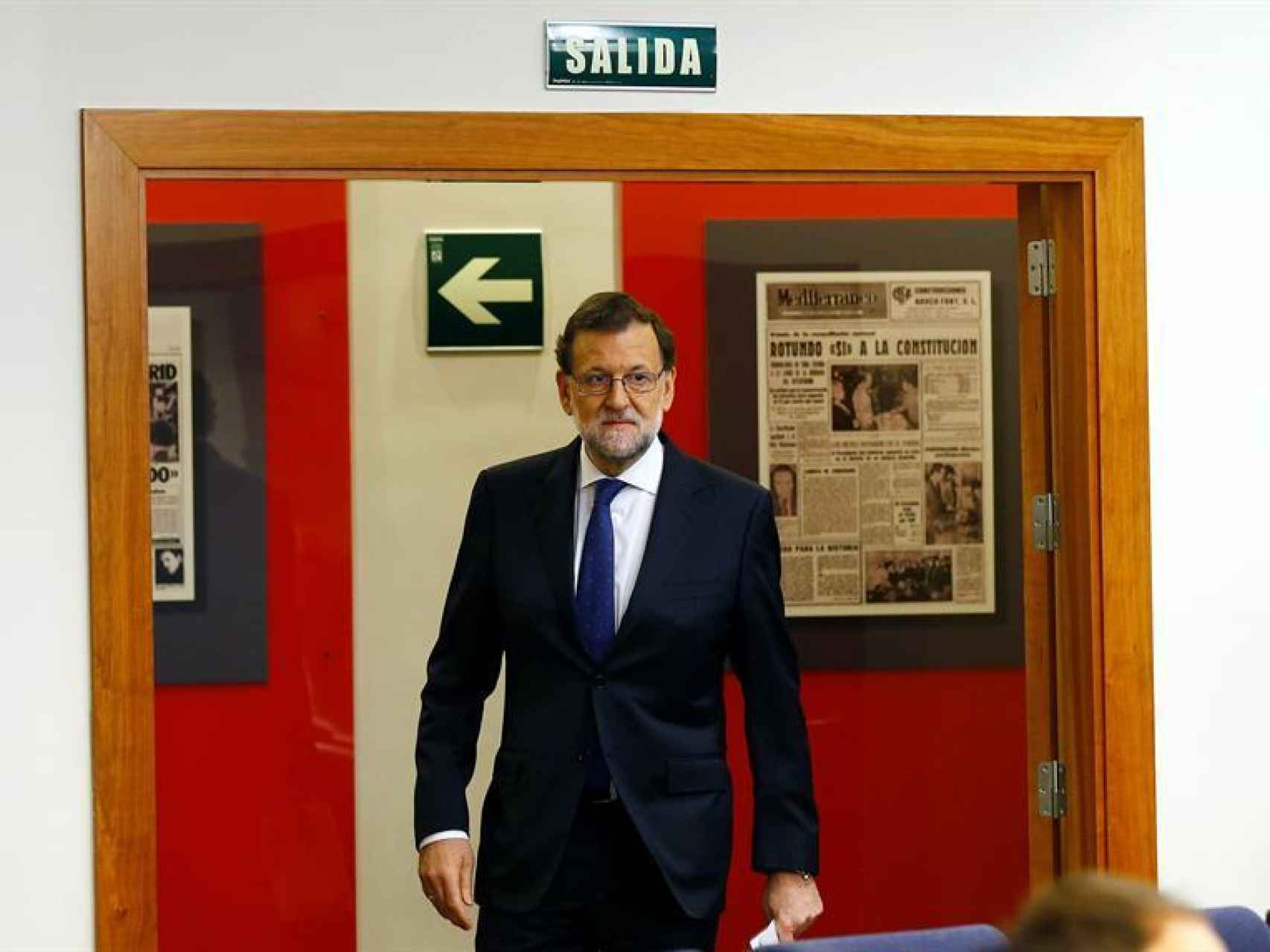 El presidente del PP, Mariano Rajoy/J.P. Gandul/EFE