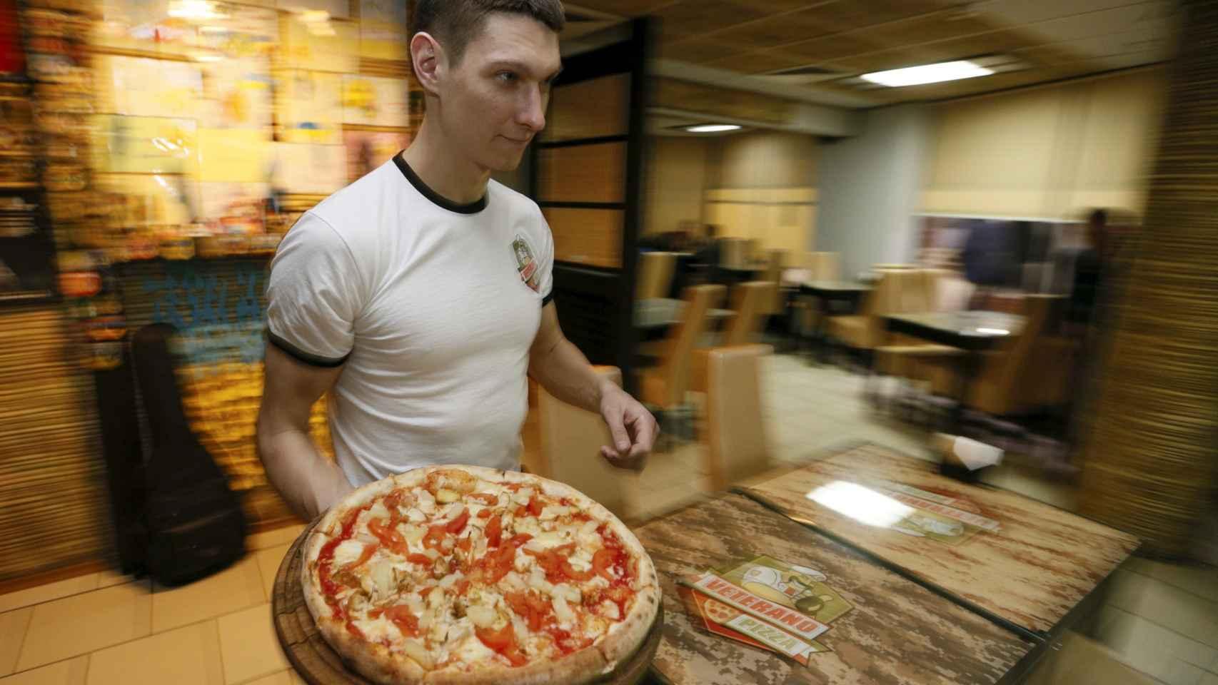 La comida a domicilio, un negocio al alza en España.