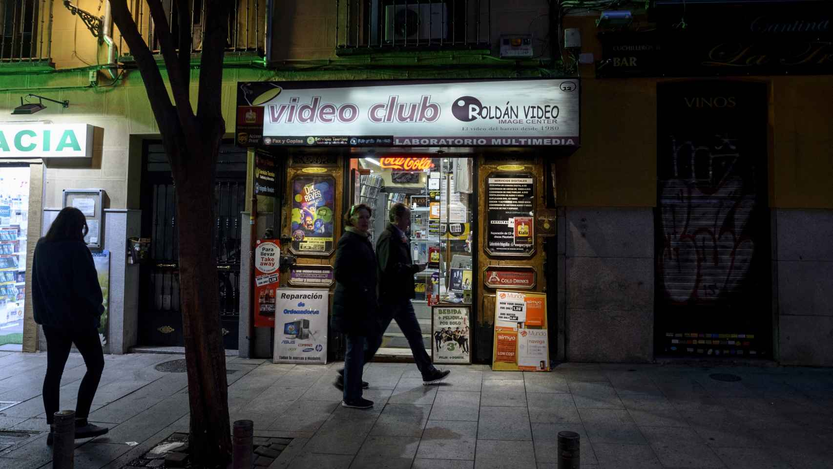 Videoclub Rafael Roldán en Madrid