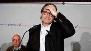 Artur Mas, en un acto celebrado el sábado en Barcelona.