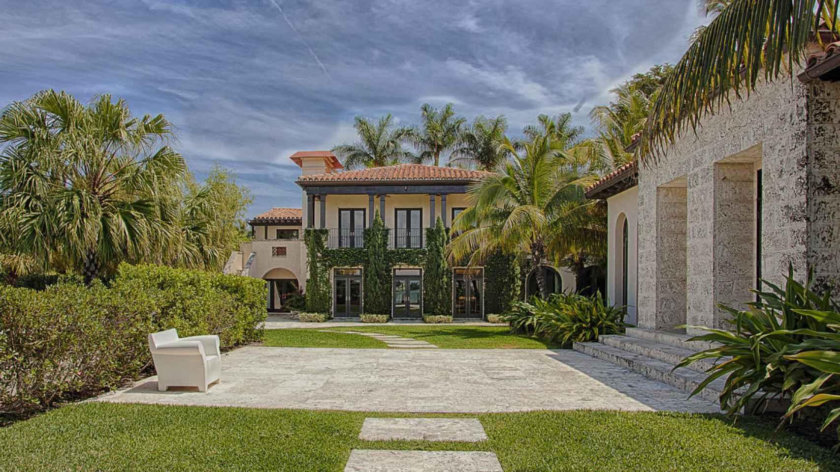 La mansión de lujo que vende Matt Damon en Miami