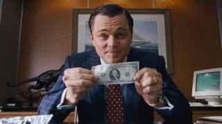 Leonardo di Caprio en el Lobo de Wall Street
