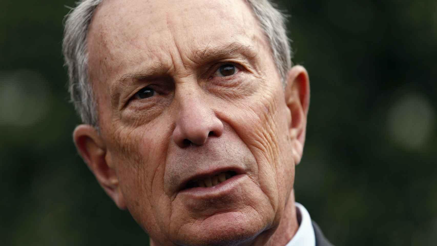El potencial candidato a las elecciones de EEUU Michael Bloomberg.