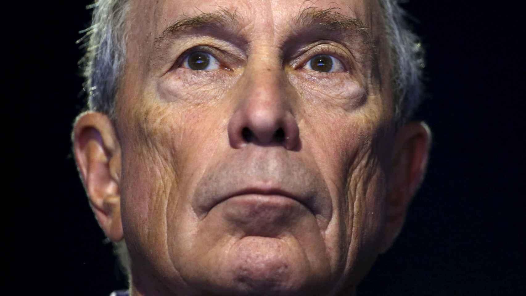 Michael Bloomberg, exalcalde de Nueva York y magnate mediático.