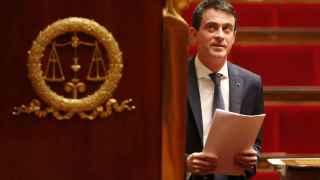 El primer ministro galo, Manuel Valls.