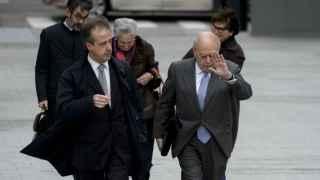 Jordi Pujol llega a la Audiencia para declarar sobre su fortuna
