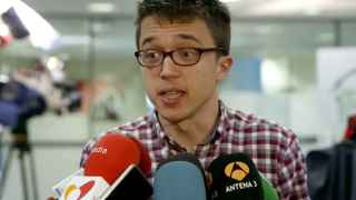 El portavoz de Podemos Íñigo Errejón.