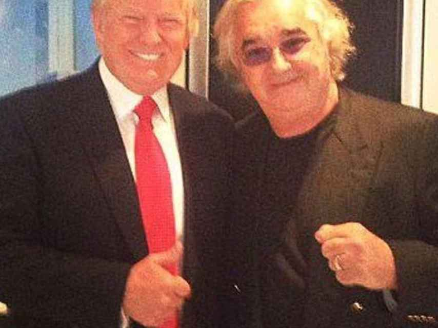 Briatore apoya a su amigo Trump como presidente
