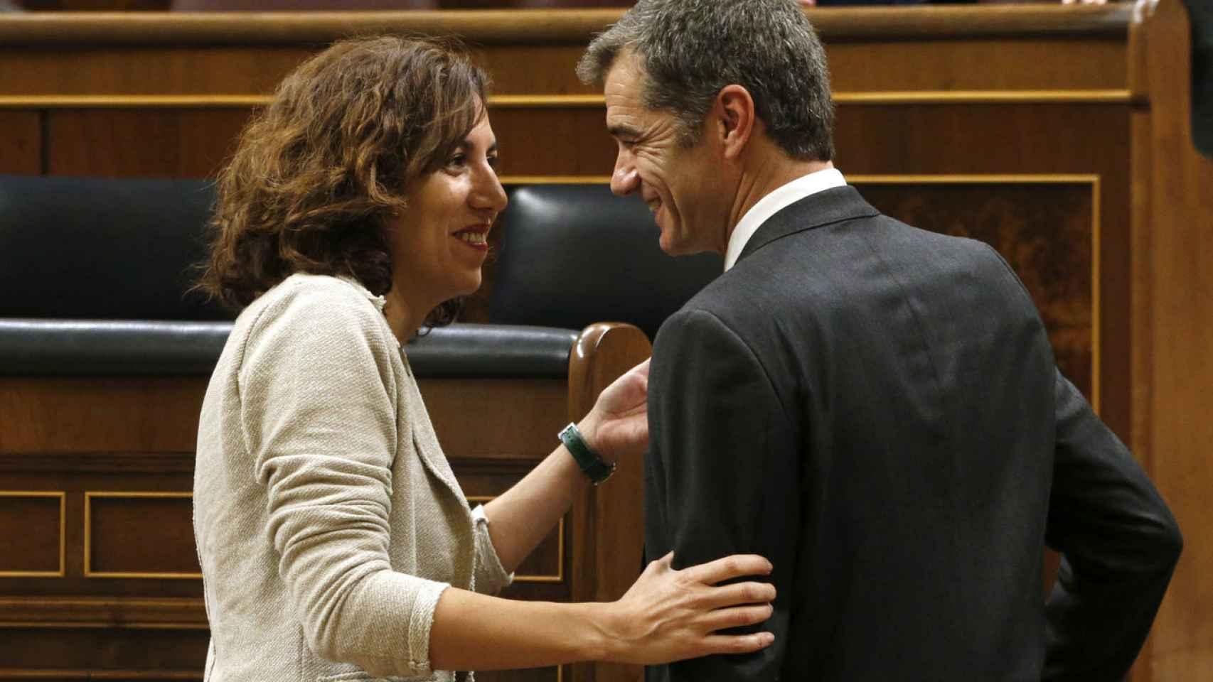 Lozano y Cantó, de nuevo en el Congreso, pero en distintos partidos.