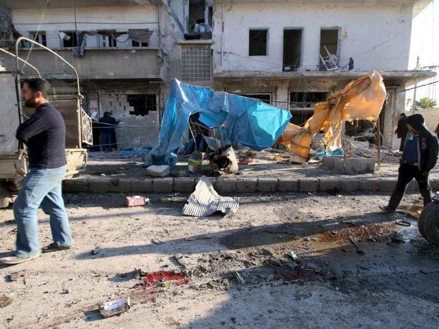 Alepo sufre bombardeos continuados desde el 1 de febrero.