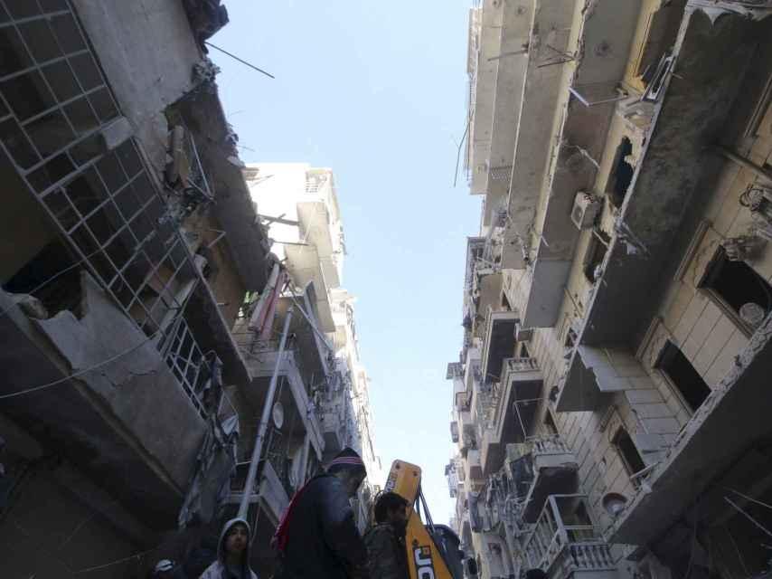 Alepo es el bastión rebelde que facilitaba su ruta a Turquía.