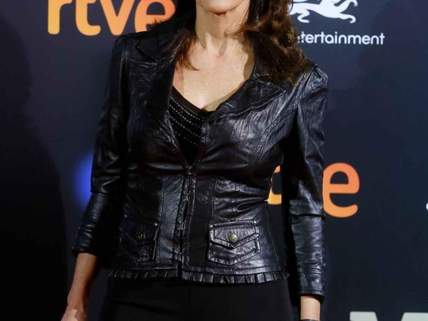 """La actriz Pastora Vega en el Preestreno de """"El Ministerio del Tiempo"""""""