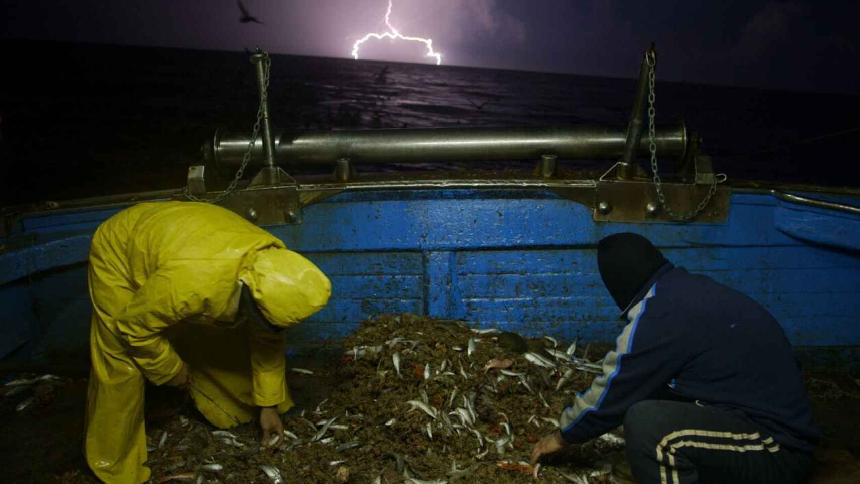 Fotograma del documental Lampedusa in winter