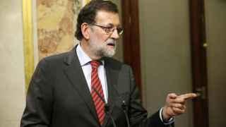 Mariano Rajoy protagonizó una extraña rueda de prensa.