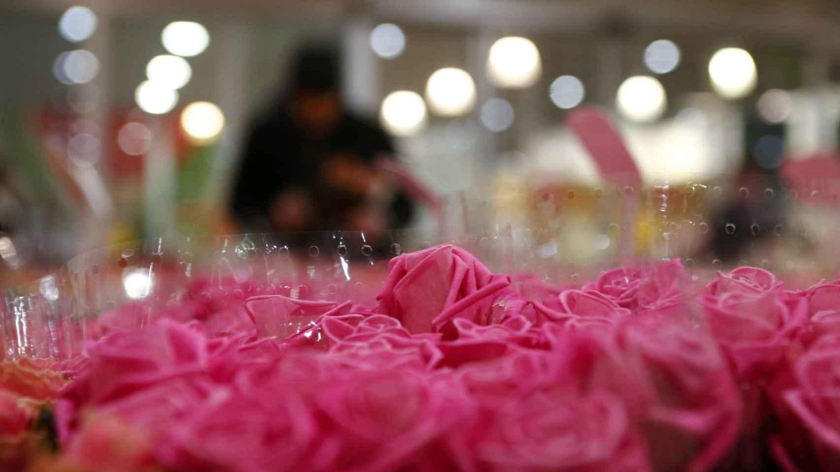 Las flores, uno de los regalos más repetidos en San Valentín.